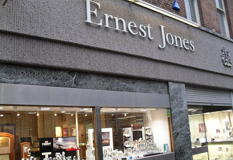 Pushbike burglars loot Liverpool's Ernest Jones Jewellers