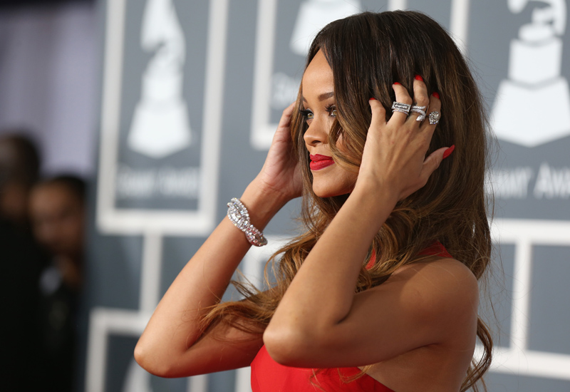The 55th Annual GRAMMY Awards – Red Carpet