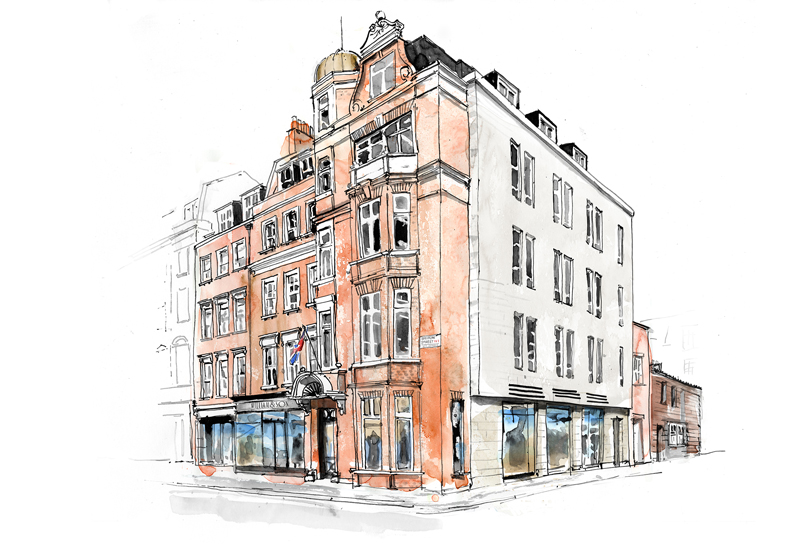 William and Son Bruton Street Store