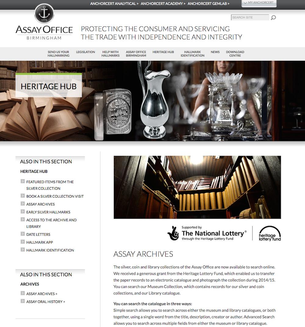 Assay Office Birmingam – Assay Archive[1]