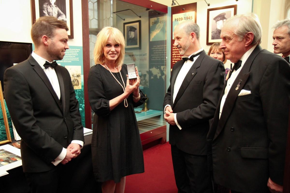 Joanna Lumley – Jeremy France Jewellers