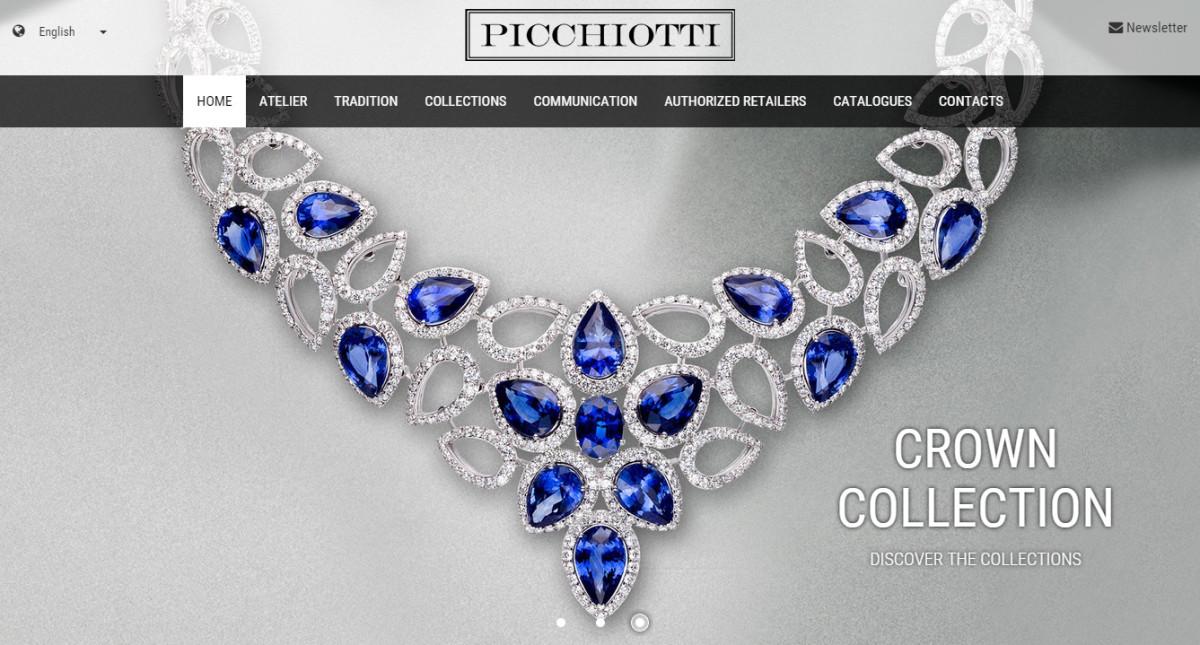 Picchiotti web site