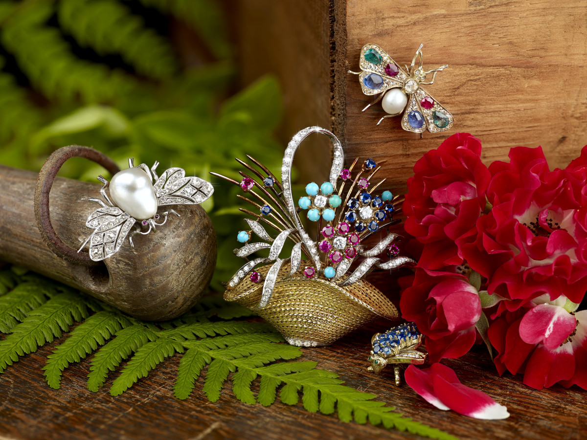 A&M Brooches