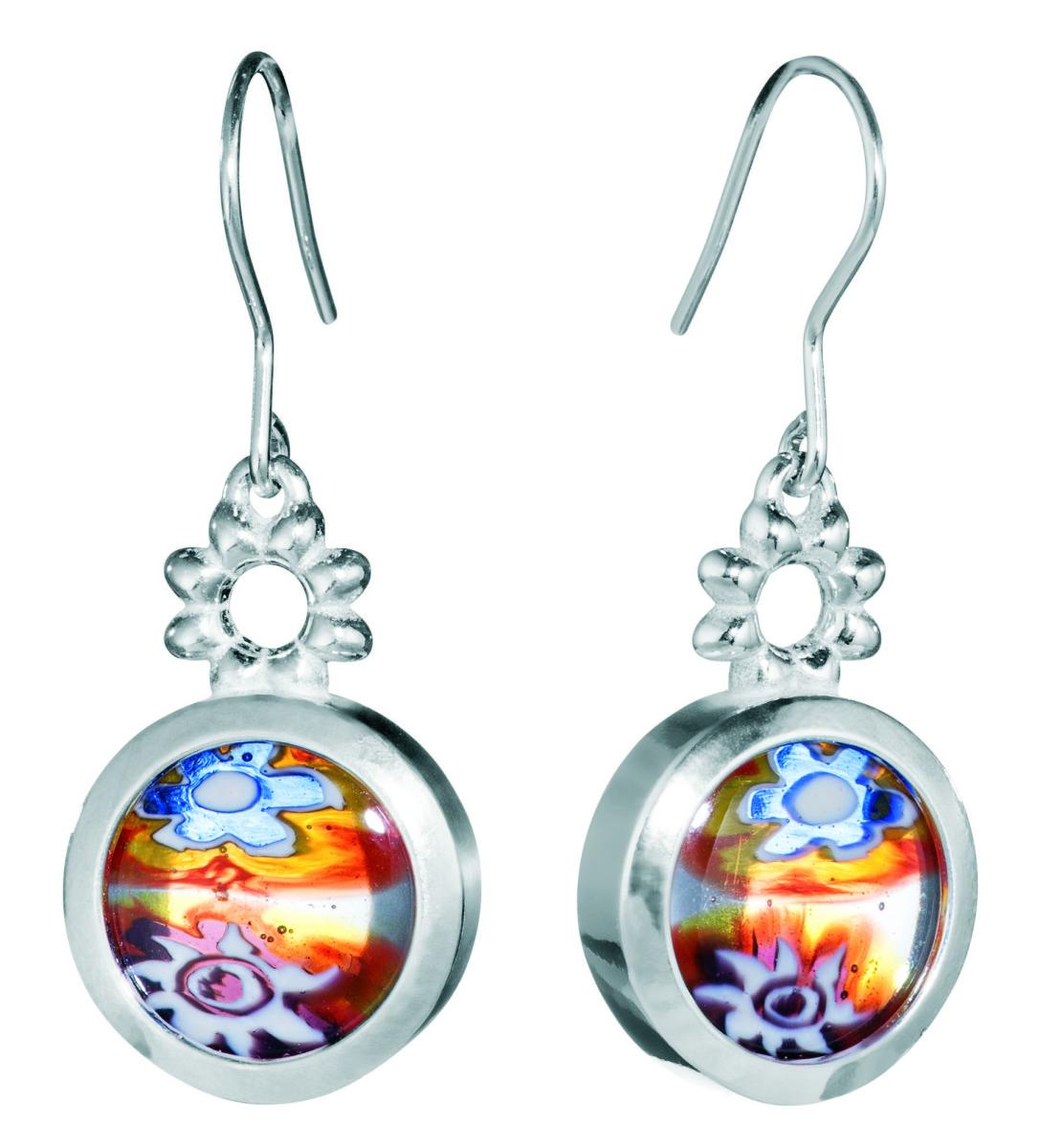 Compressed My Millefiori earrings