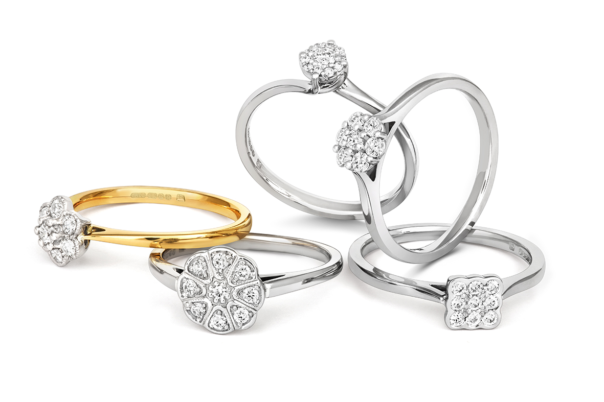 Grace rings – Cred – 5 ring group