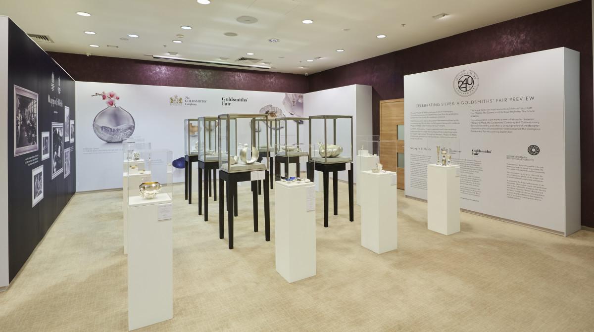 Mappin & Webb exhibit