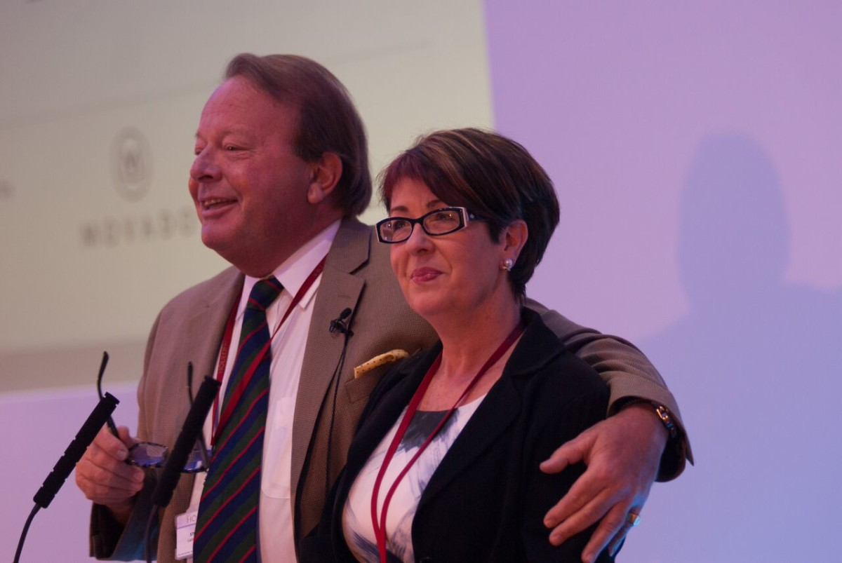 Stuart Laing and Helen Haddow