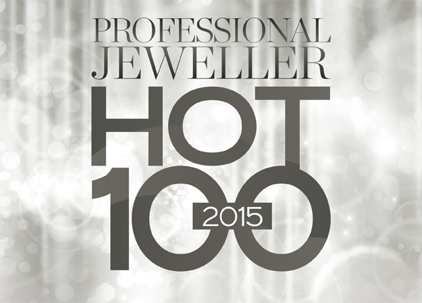 PJ Hot 100 2015 logo in silver