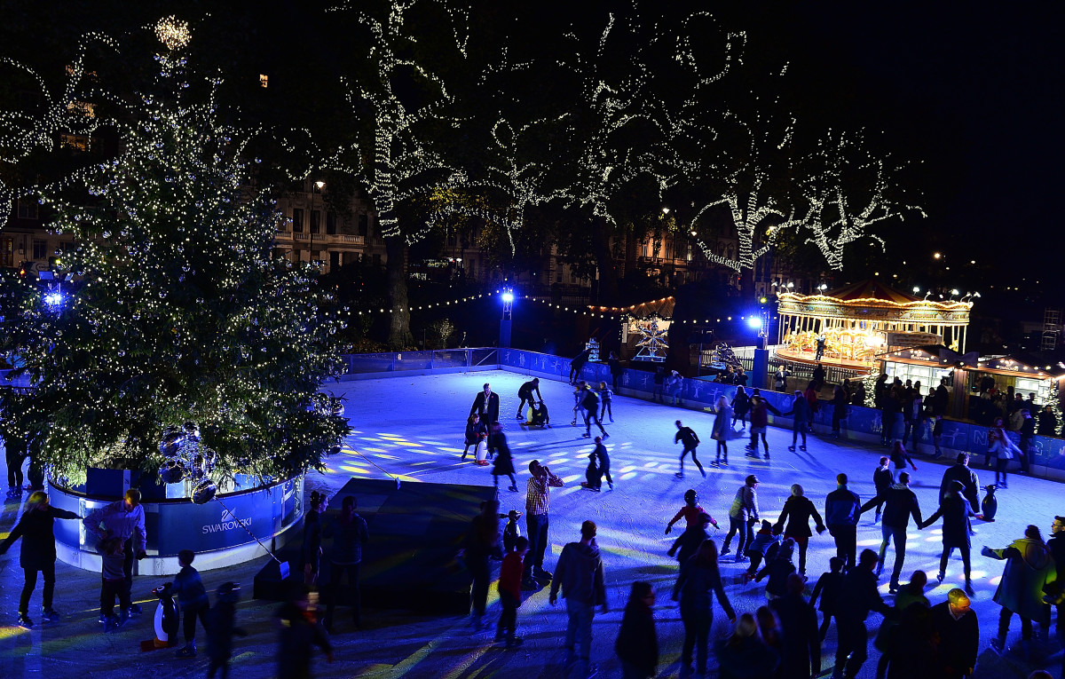 Natural History Museum Swarovski Ice Rink Opening Night