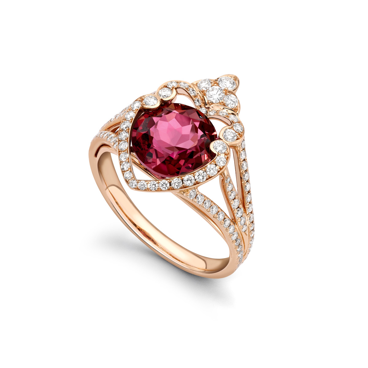 Cullinan Rubilite ring
