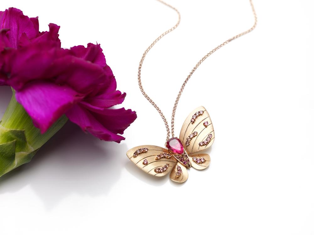Fei Liu Butterfly pendant – low