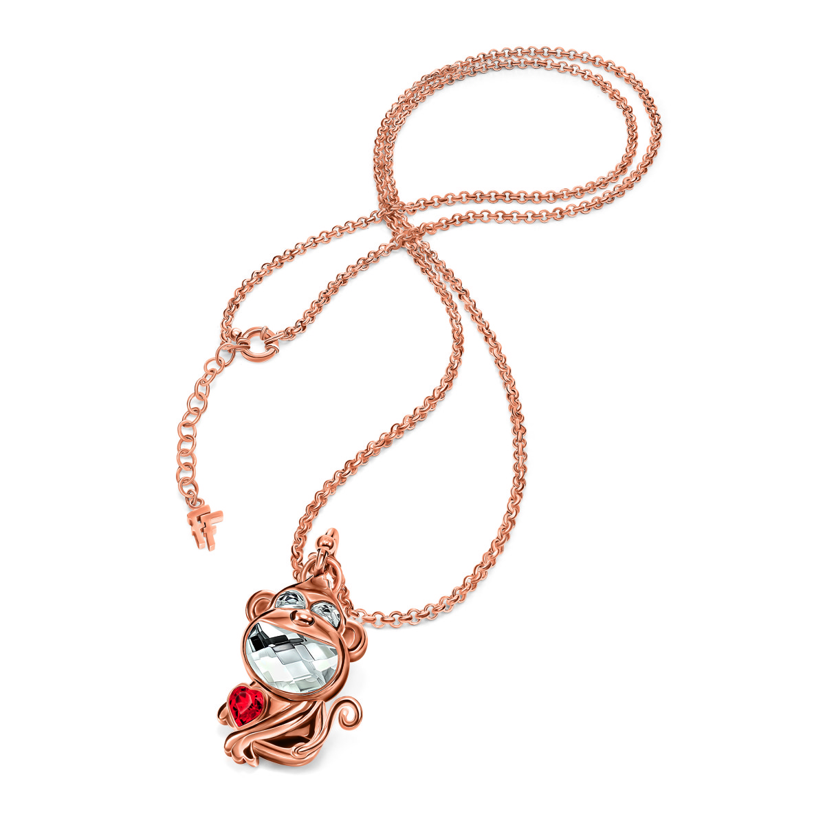 Lucky Monkey necklace.