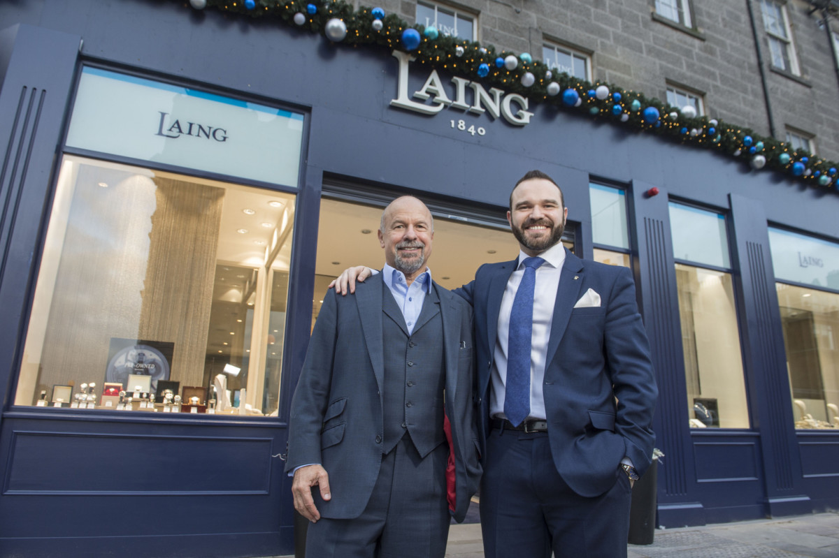 New Laing Edinburgh store opens.