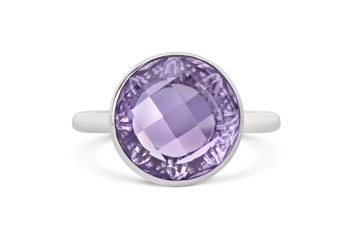 Amethyst ring – front £144