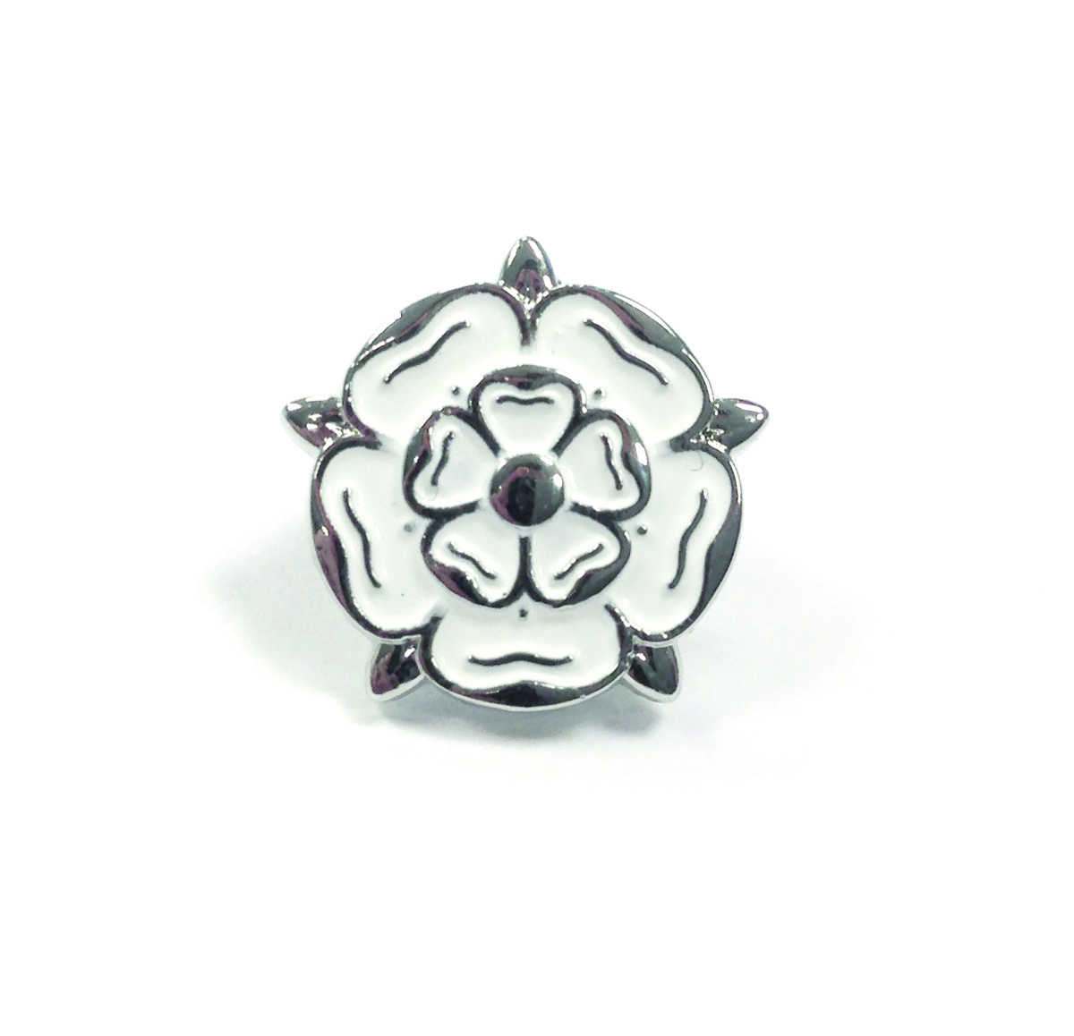 Buckley London Yorkshire Rose Pin