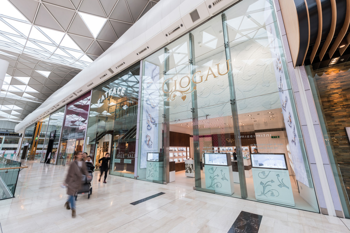 Clogau, Westfield London, smaller