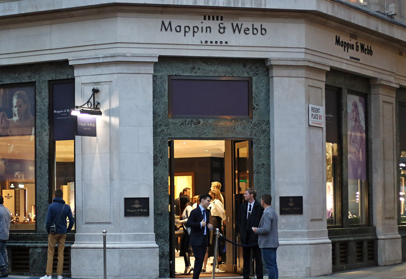 The Grand Opening of Mappin & Webb Flagship Regent Street