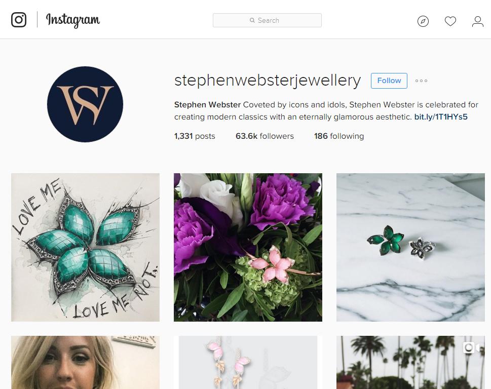 Stephen Webster Instagram