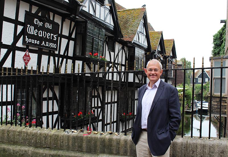 Chief executive of Canterbury BID, Bob Jones