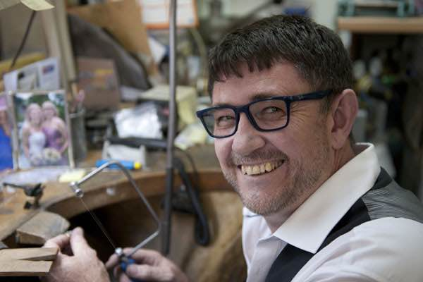 Dave Baxter of Hadfields Jewellers & Designers