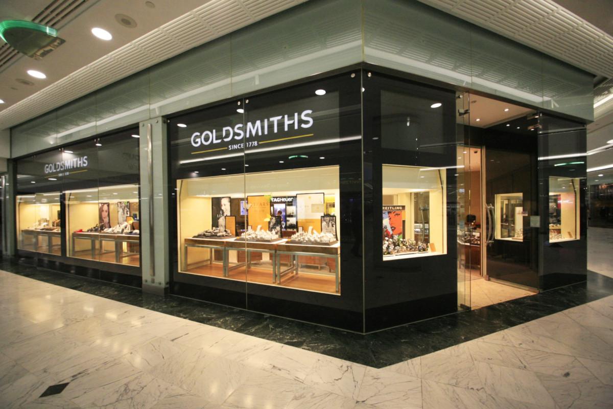 Goldsmiths' store in Brighton's Churchill Square shopping centre