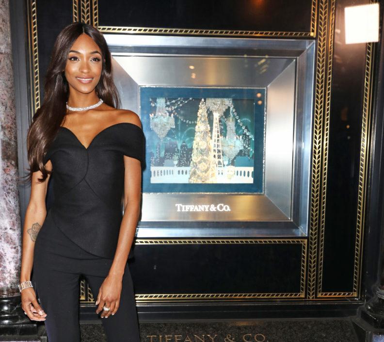 Jourdan Dunn Unveils Tiffany & Co. Christmas Windows For 2016