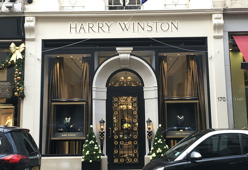 Harry Winston New Bond st Nov 2016