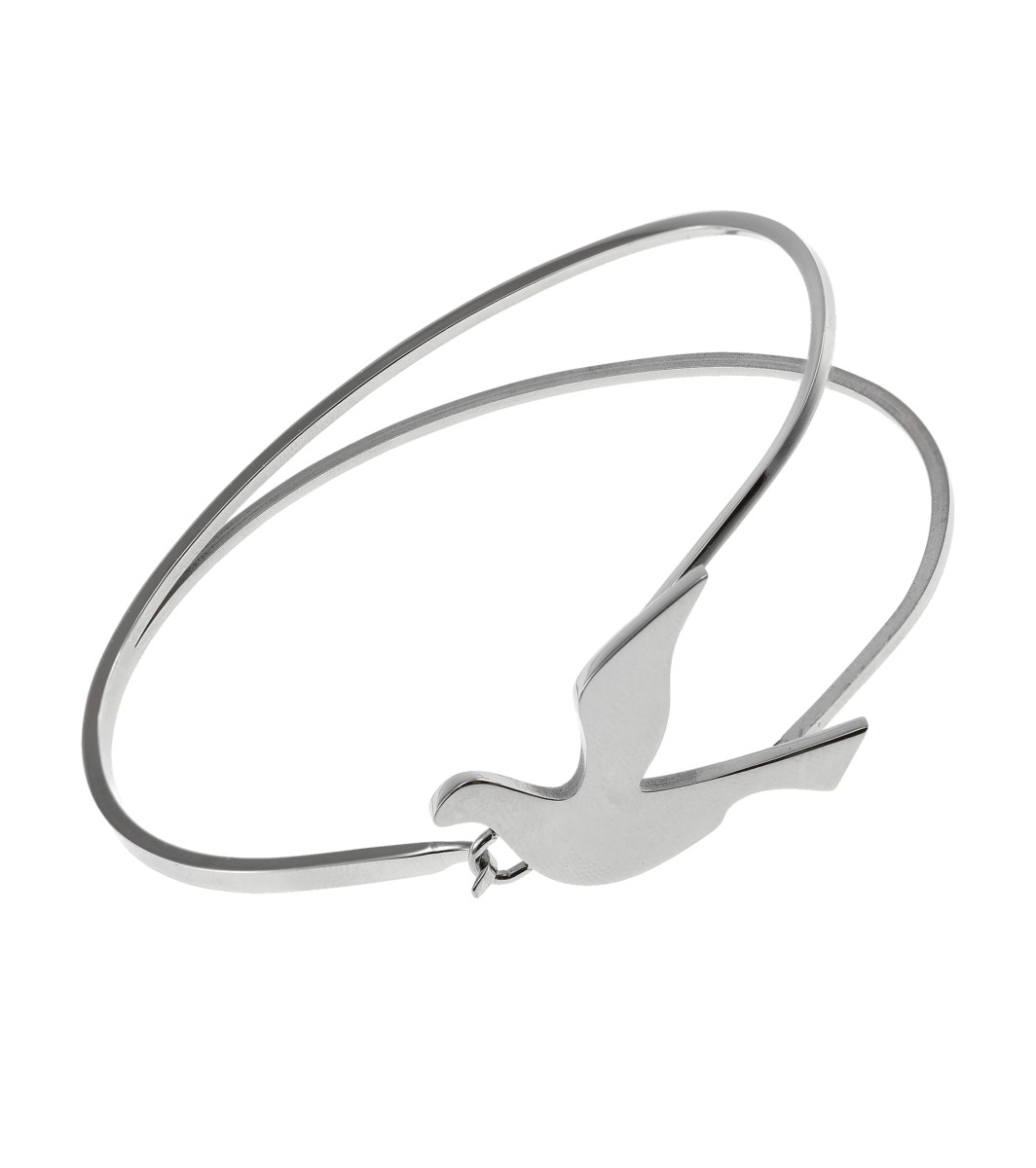 Edblad_Dove_bangle_steel £36