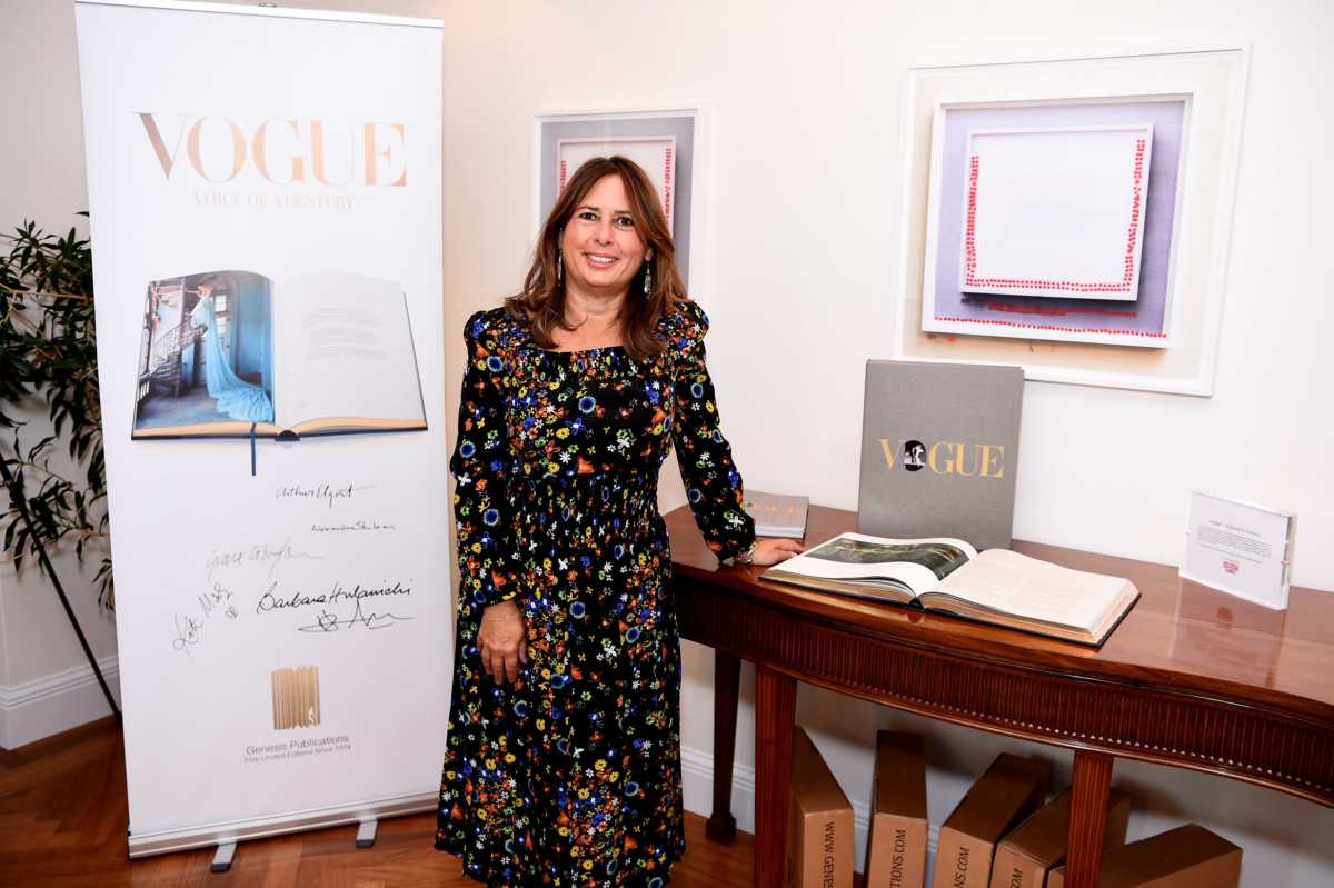 "Celebrating ""Vogue – Voice of a Century"" with Genesis Publications, Alexandra Shulman of British Vogue, and The GREAT Britain Campaign at the British Residence"