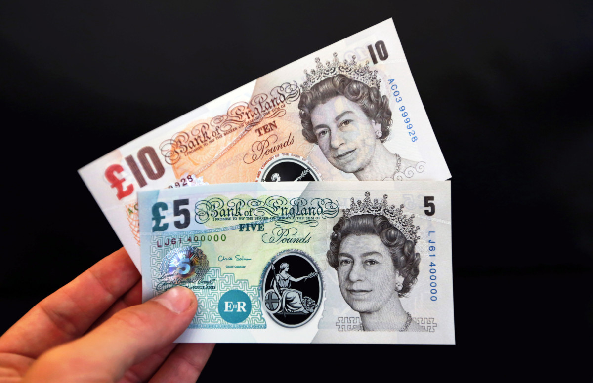 Bank Of England Proposes Switch To Polymer Banknotes