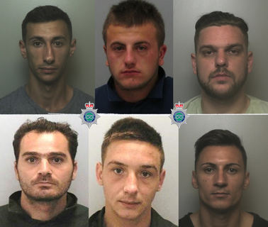 Romanian crime gang