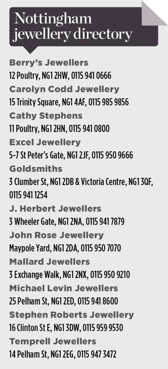 nottingham directory jeweller
