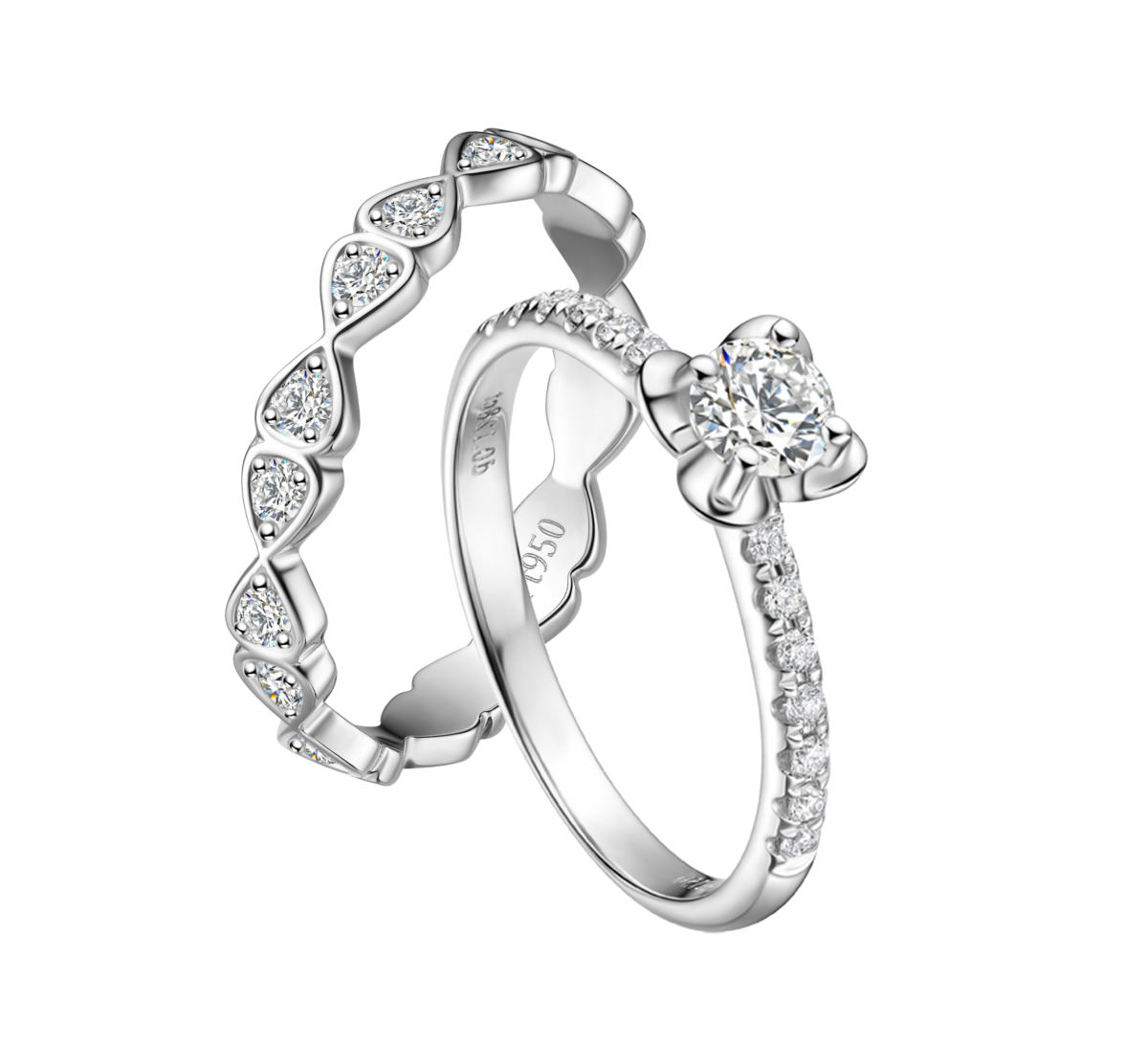 Lily of the Valley rings