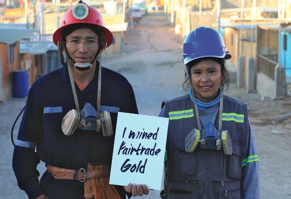 Fairtrade Postcard / Hockley Mint Fairtrade Ambassadors