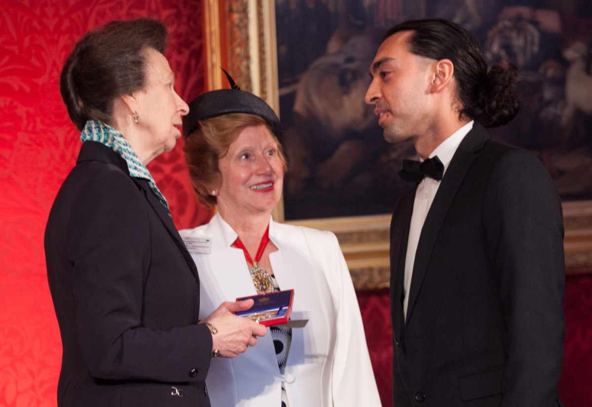 HRH The Princess Royal with Prime Warden Judith Cobham-Lowe and James Handyside_