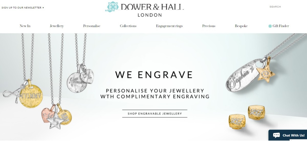 DH branding