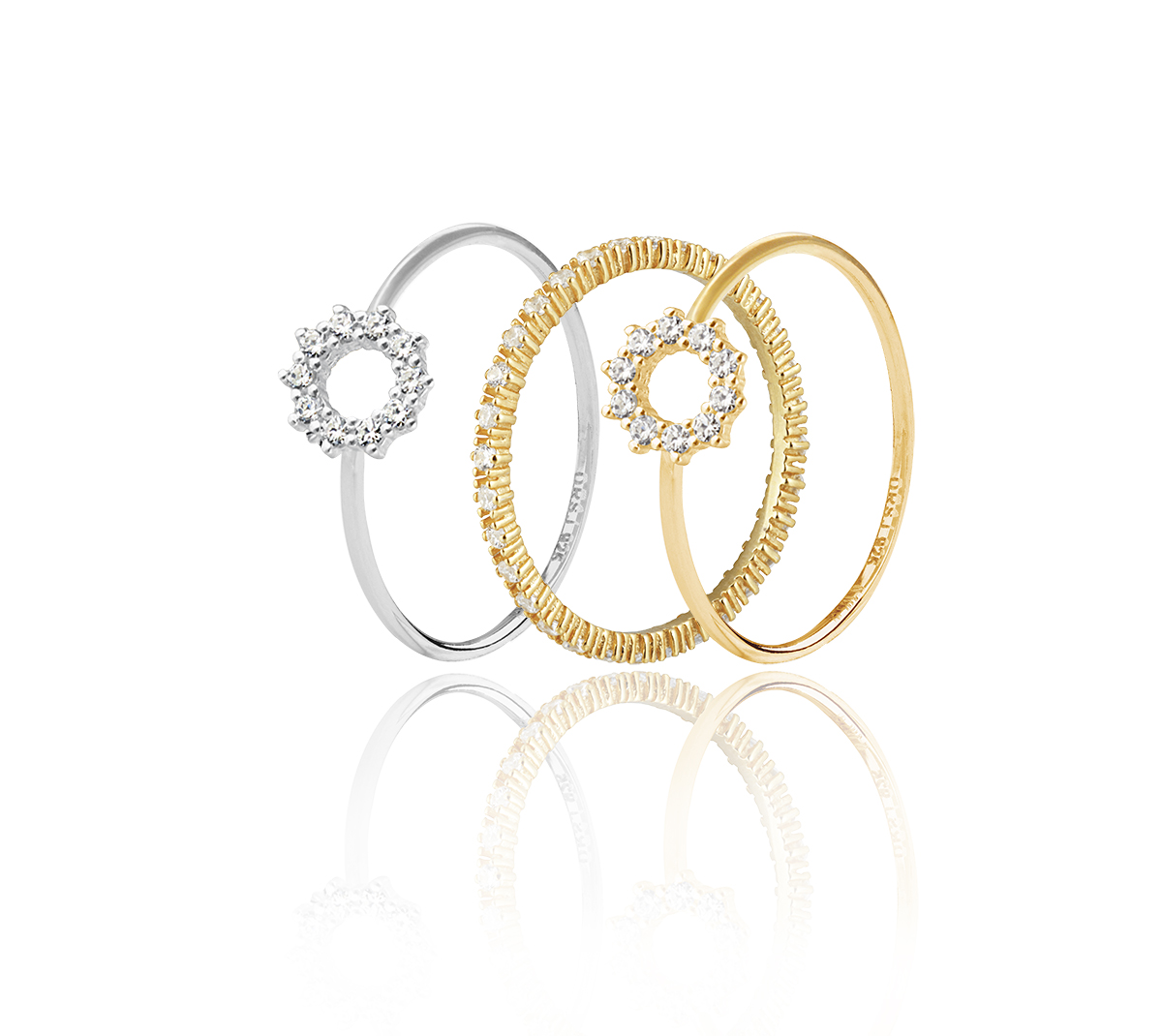-Infinity rings spegel