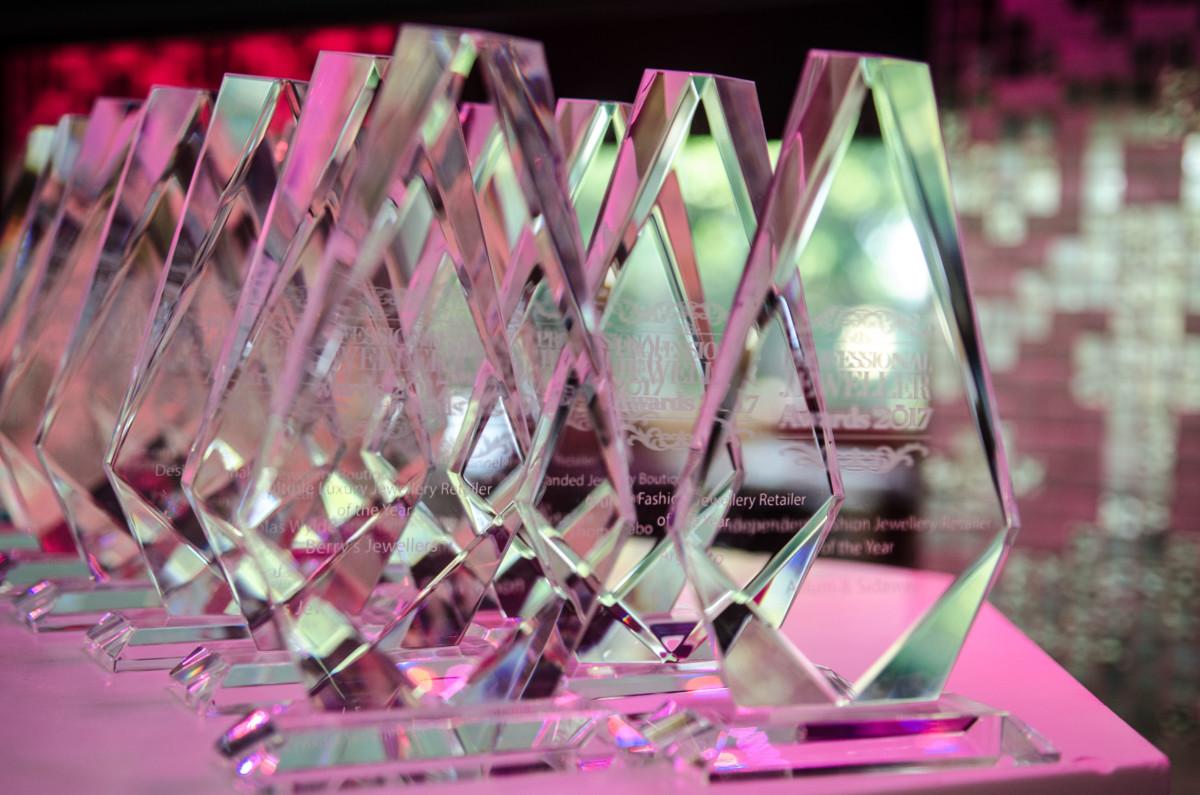 Professional Jeweller Awards 2017 at the Kensington Roof Gardens