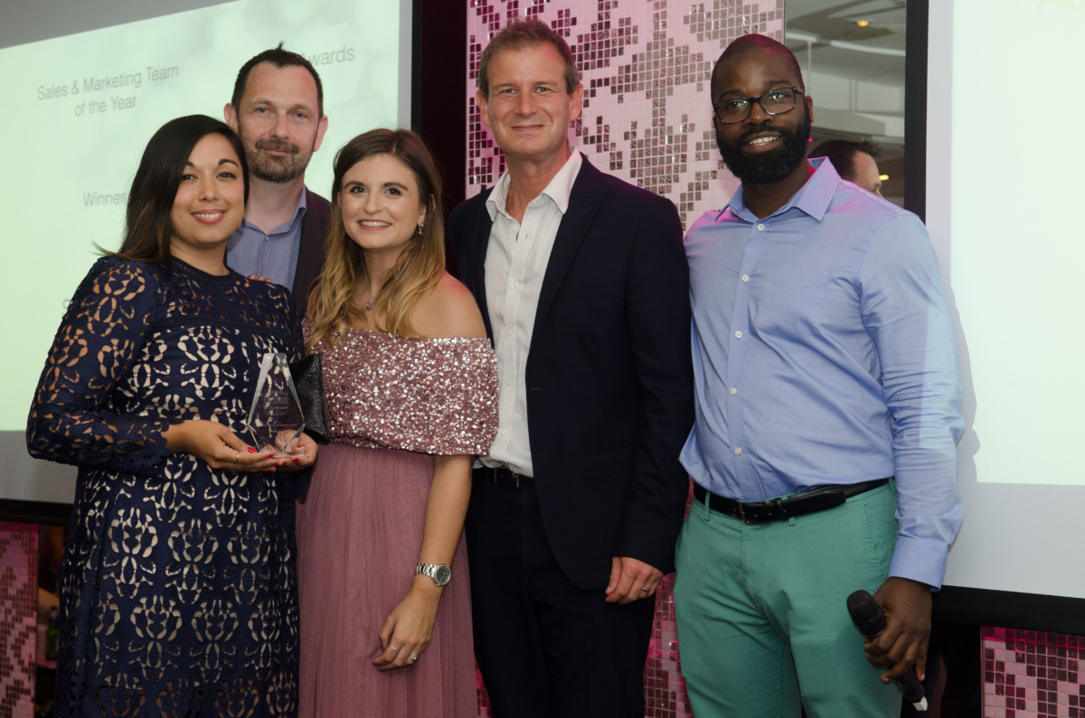 Professional Jeweller Awards 2017 at the Kensington Roof Gardens