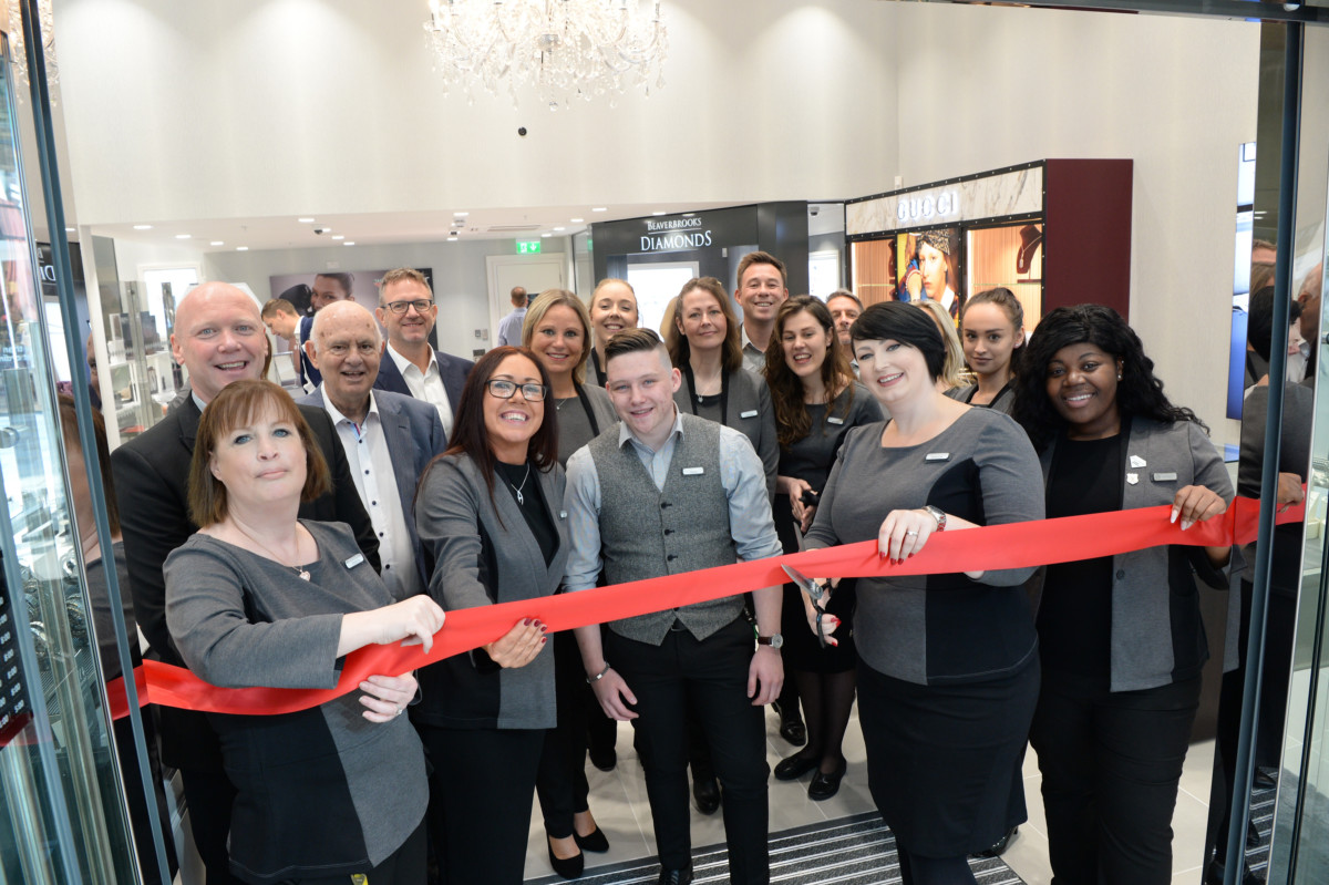 Beaverbrooks celebrates its 70th opening at the brand new The Lexicon shopping centre in Bracknell