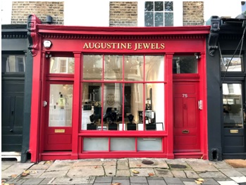 Augustine Jewels opens London flagship.