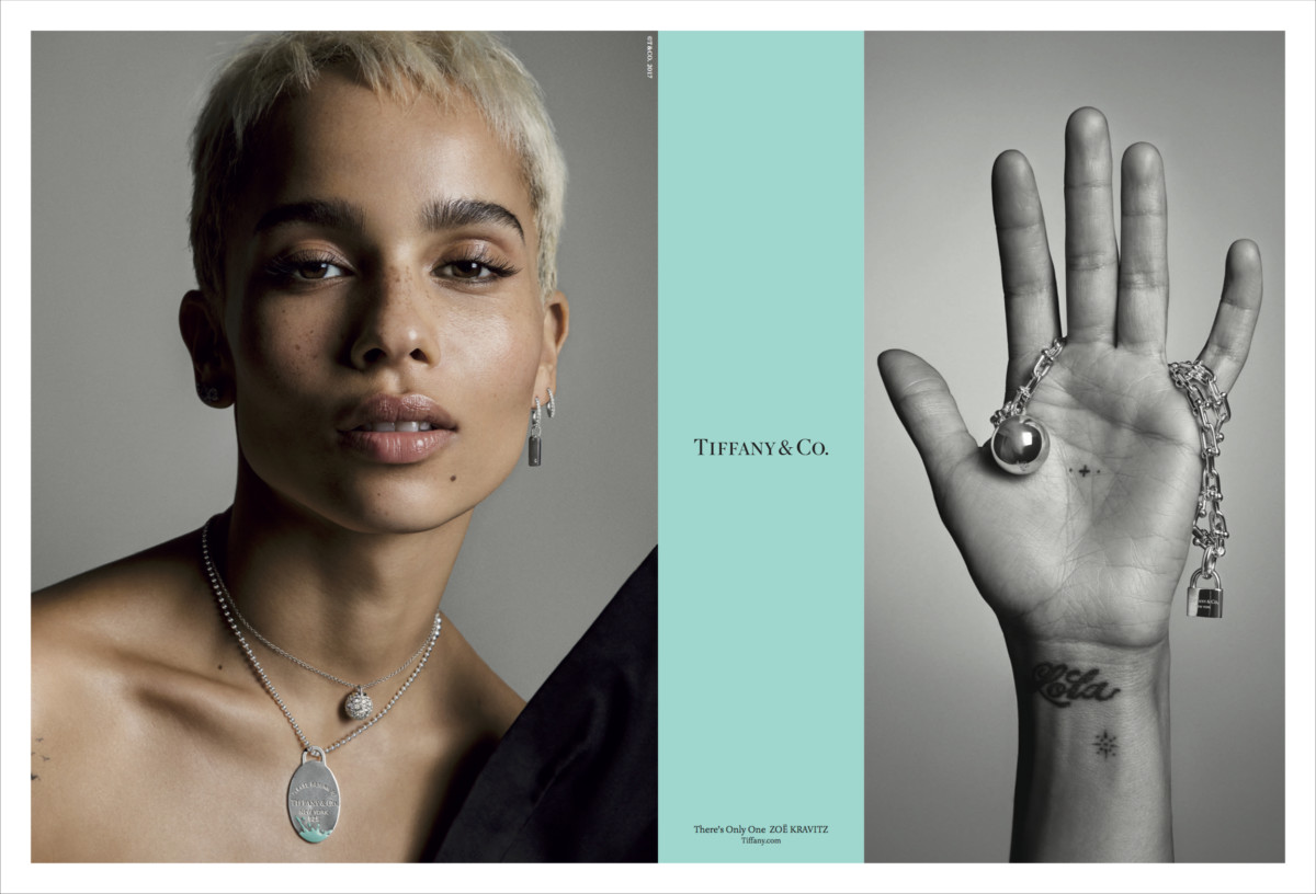 1.Tiffany & Co._Fall_2017_Campaign_Zoe Kravitz_1