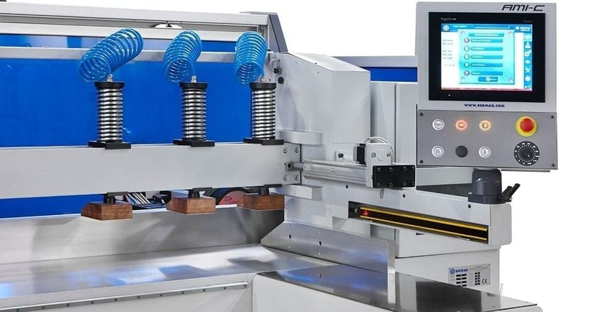Wrights Plastics has invested £40,000 in the Bermaq diamond-edge polisher