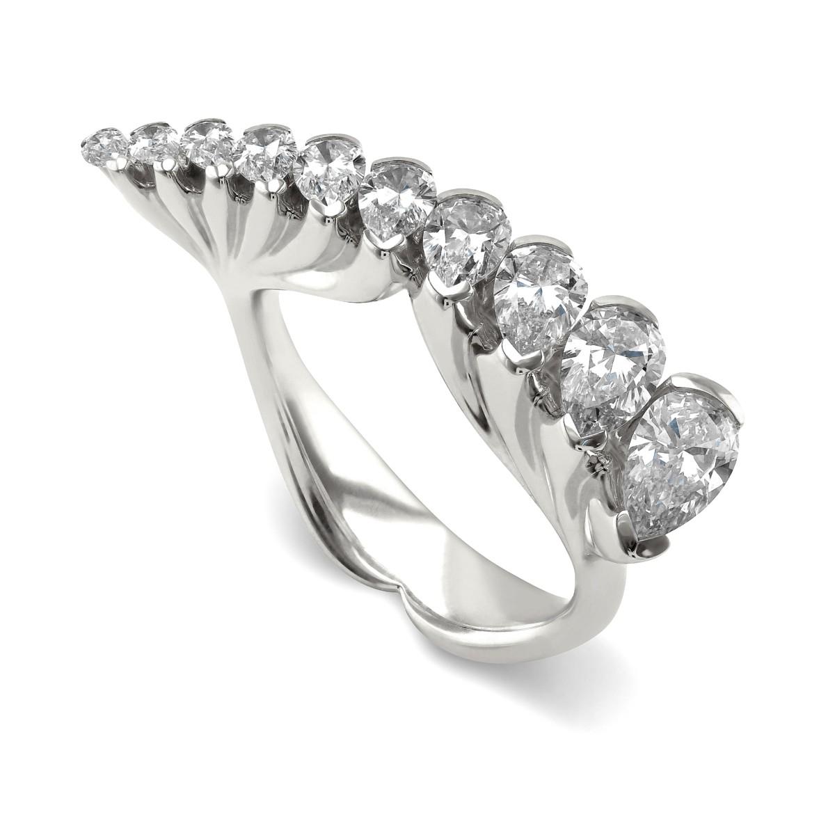 Eclipse WG Diamond Ring