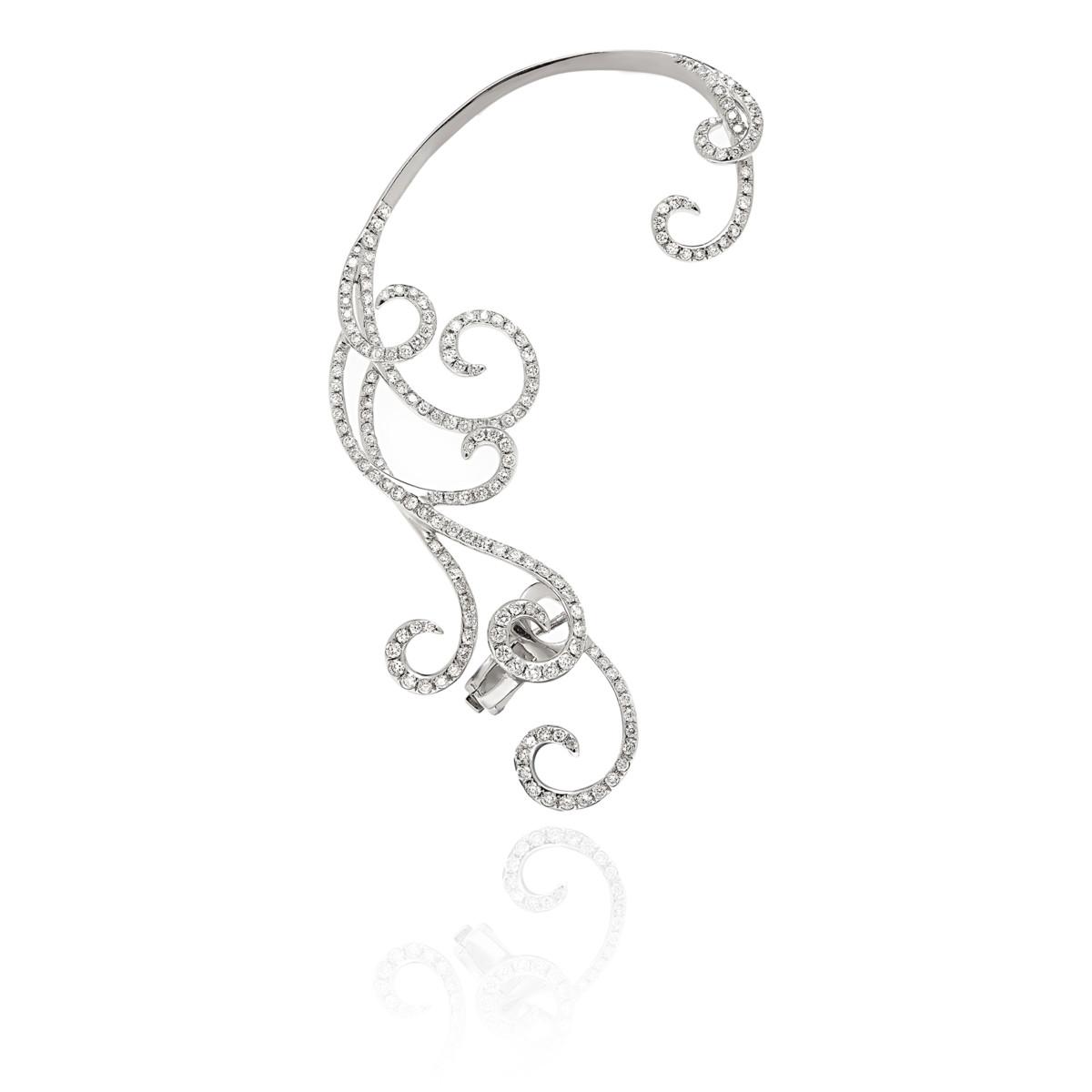 Savage Rose Ornate earcuff