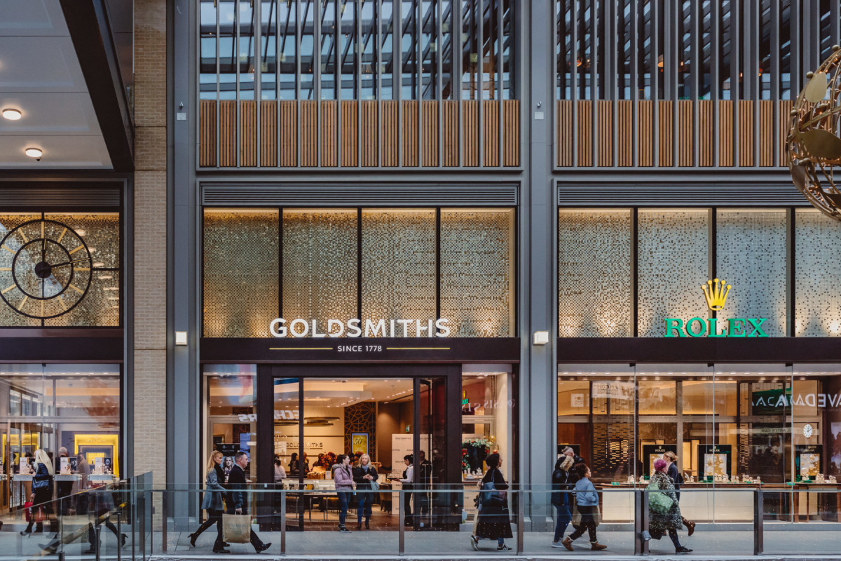The new Goldsmiths showroom at Westgate Shopping Centre (1)