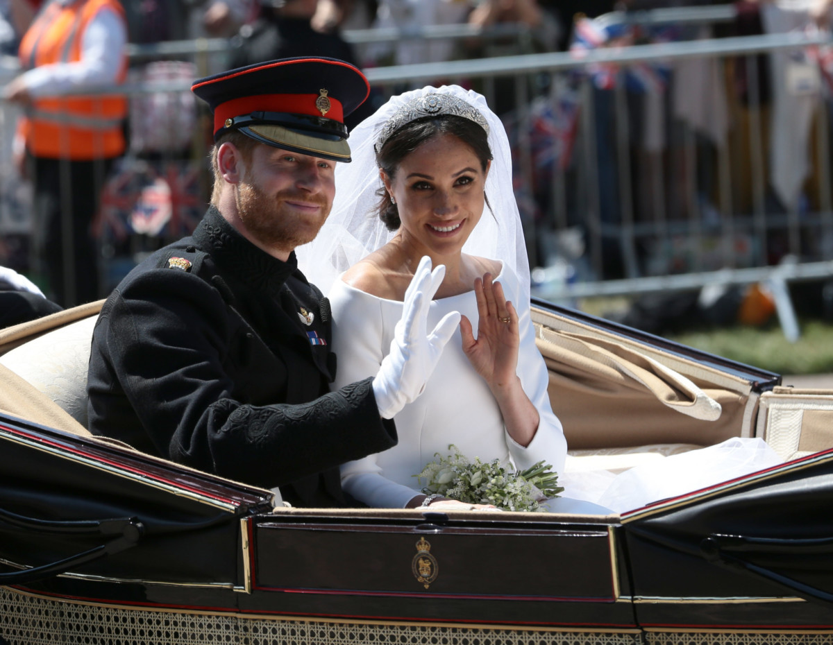 Prince Harry Marries Ms. Meghan Markle – Procession