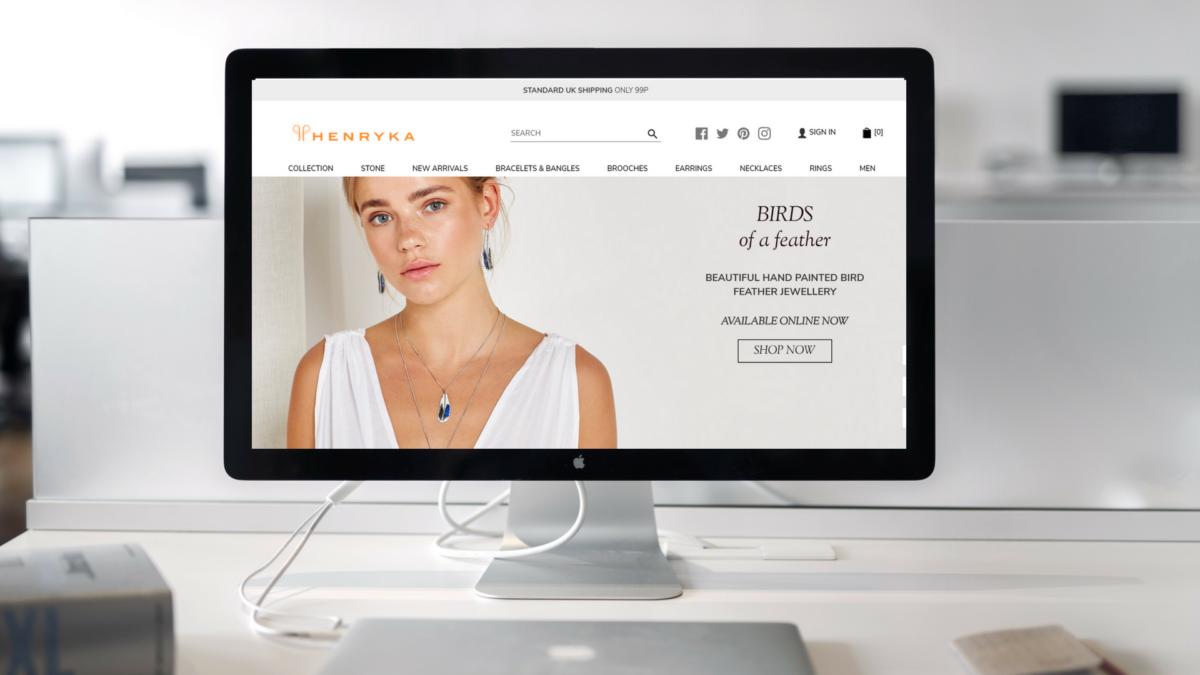 British Jewellery Brand Henryka Launches New Website – June 2018