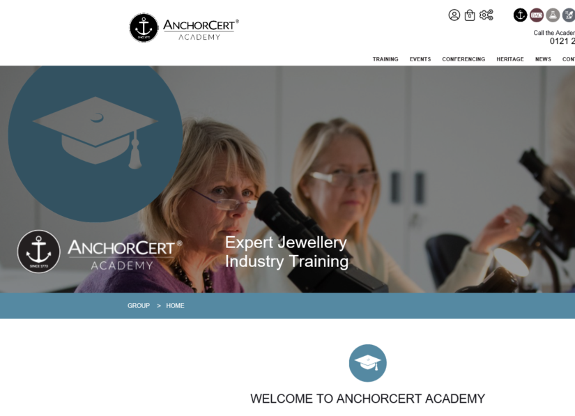 ACADEMY Website – ScreenShot