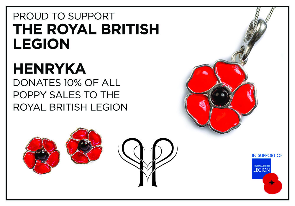 Henryka Poppy Appeal – Poppy Collection for the Royal British Legion